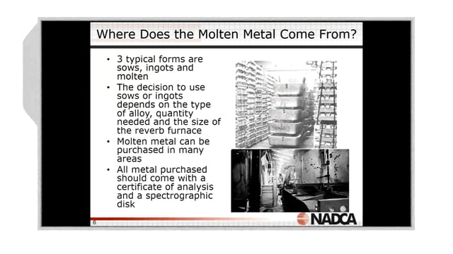 2018-03-14 – Basic Operator Training: Understanding Metal Melting/Handling –  Highlight
